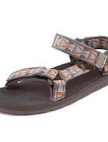 Zapatos de Hombre-Sandalias-Exterior / Deporte-Sintético-Marrón