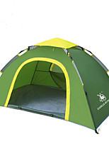 Tenda-Impermeabile / Traspirabilità / Anti-vento / Tenere al caldo / Ultra leggero (UL)-2 persone-Verde / Blu