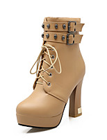 Women's Shoes   Heels / Platform / Fashion Boots Boots Outdoor / Office & Career / Casual Chunky Heel  &740