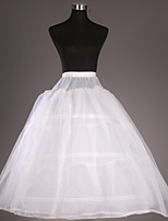 Slips(Tülle / Taft,Weiß) -102CM-2-Abendkleid