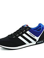 Men's Shoes Tulle Athletic Sneakers Athletic Indoor Court Flat Heel Others / Lace-up Black / Blue / Red
