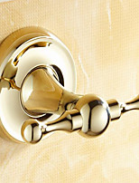 Robe Hook / Polished Brass / Wall Mounted /10*8*15 /Brass /Antique /10 8 0.23