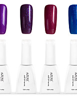 12ml Azure Summer Color Nail Polish Soak off UV Gel Nails Art Decoration NO.8