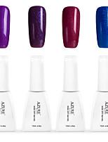 12ml Azure Summer Color Nail Polish Soak off UV Gel Nails Art Decoration NO.8