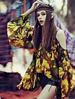 Aporia.As® Women's Round Neck 1/2 Length Sleeve Shirt & Blouse Multi-MZ10004