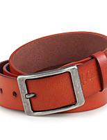 Men Faux Leather Waist Belt,Vintage / Party / Work / Casual Alloy / Leather P3D1P1K2