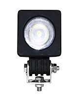 1pcs IP68 luz del trabajo de 10w luz de trabajo 4x4led
