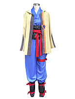 Inspired by Kabaneri Of The Iron Fortress Ikoma Anime Cosplay Costumes Cosplay Suits Solid Blue Long SleeveCoat / Vest / Shirt / Pants /