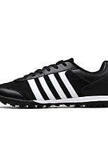 Zapatos Running Tul / Microfibra Negro / Azul Hombre