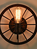 Loft Industrial Retro Wall Sconces,Traditional/Classic E27 Metal