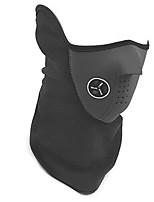 una cara máscara de oreja a prueba de viento caliente y fría a prueba de polvo de esquí al aire libre que monta el equipo de protección