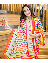 Twill Printing Autumn And Winter Scarves Large Oversized Fashion Shawls
