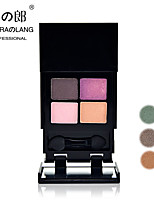 4Colors Eyeshadow Palette Dry Eyeshadow palette Powder Daily Makeup