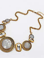 Gemstone Necklace Fashion Jewelry Accessories Small Round Palace