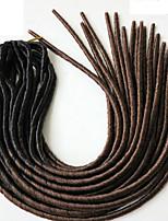 #33 Havanna Dread Locks Haarverlängerungen 20 inch Kanekalon 20 roots Strand 100g Gramm Haar Borten