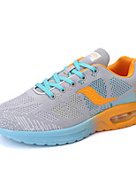 Men's Shoes Tulle Casual Sneakers Casual Sneaker Flat Heel Others Green / Gray / Orange