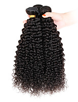 3 Pièces Kinky Curly Tissages de cheveux humains Cheveux Indiens Tissages de cheveux humains Kinky Curly