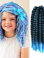 Azul Havana Tranças torção Extensões de cabelo 12 Kanikalon 1 costa 100g grama Tranças de cabelo