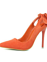 Women's Shoes Fleece Summer Heels Heels Casual Stiletto Heel Others Black / Pink / Red / Gray / Orange