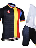 KEIYUEM® Summer Cycling Jersey Short Sleeves + BIB Shorts Ropa Ciclismo Cycling Clothing Suits #K99