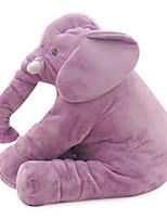 Children Baby Elephant Doll Plush Doll Purple Cloth