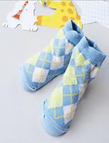 Girls / Boys Socks & Stockings,All Seasons Cotton Blends Blue / Red