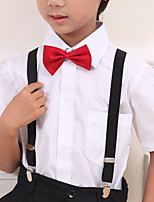 Boys Ties & Bows,All Seasons Polyester Black / Red