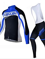 KEIYUEM Cycling Clothing Sets/Suits / Jerseys / Tights Unisex BikeBreathable / Insulated / Quick Dry / Dust Proof / Wearable / Thermal /