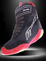 Men's Athletic Shoes Spring / Summer / Fall / Winter Comfort Cowhide Gore Black and Red Sneaker