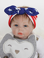 Kid's Stripe Bowknot Cotton Bow Headband(0-3Years Old)