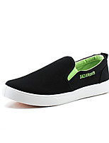 Men's Shoes Canvas Athletic Sneakers Athletic Sneaker Flat Heel Gore Black / Blue / Red