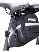 Bolsa para Bagageiro de Bicicleta / Bolsa de Ciclismo Lista Reflectora / Vestível / Compacto Ciclismo Pele PU / PVC / Póliester 600D Preto