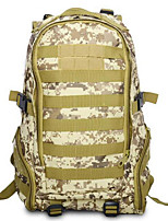 35 L Hiking & Backpacking Pack / Backpack Camping & Hiking Outdoor Multifunctional Army Green Oxford Other