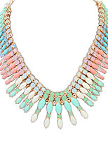 European Fashion Alloy / Resin Necklace Choker Necklaces Party 1pc
