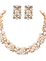 Fashion Temperament Luxury Pearl Jewelry Sets