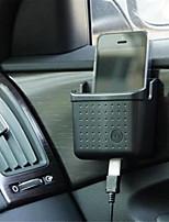 intérieur de stockage boîte de rangement boîte de boîte à gants de voiture support voiture de téléphone de voiture