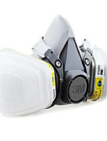 3m-6200 máscaras de gas anti-ácido activado 6002 de polvo de carbono