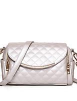 Women-Formal / Casual / Office & Career / Shopping-PU-Shoulder Bag-Beige / Pink / Blue / Red / Black