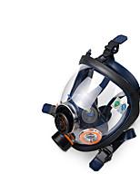st-100 de gel de sílice orgánica fuego de cobertura completa máscara de gas pintura en aerosol químico máscara de evacuación