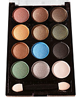 12 couleurs fard à paupières nude comestic une beauté maquillage durable des couleurs aléatoires