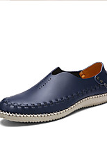 Men's Shoes Cowhide Outdoor / Athletic / Casual Flats / Oxfords / Clogs & Mules Outdoor / Athletic / Casual Walking F