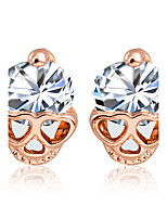 Earring Skull Jewelry Women Fashion Wedding / Party / Daily / Casual / Sports Alloy / Rhinestone 1 pair Gold / Silver