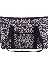 Leopard Style Pet Carrier Dog Bag for Dogs and Cats