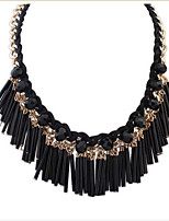 Stylish And Elegant Street Shooting Wild Tassel Necklace Jewelry