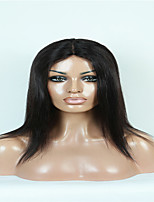 EVAWIGS 100%  Indian Human Hair U Part Wig Fashion Natural Yaki Straight Wig for Black Women