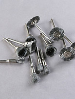 12 pcs Assorted Wire Brushes for Rotary Tools Polishing Wheel