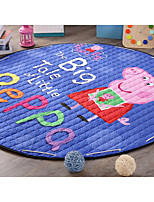 The Cartoon Circle Type Cotton Quilting Mats Containing Pig Paige Crawling Toy Storage Pad