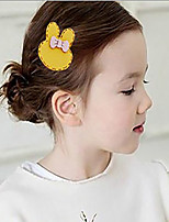 Girls Hair Accessories,All Seasons Leather Green / Pink / Yellow