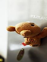 A Cute Cartoon Creative Refrigerator Magnet Magnetic Plush Toy Doll