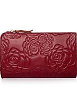 Women-Formal-PU-Shoulder Bag-Red / Black